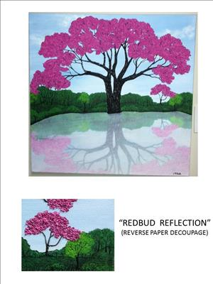 Redbud Reflection