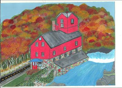 The Old Grist Mill Finished